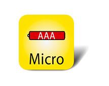 Mikro Batterie AAA