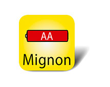 Mignon Batterie AA