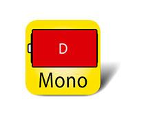 Mono D Batterie