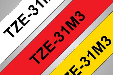 Standardband in drei unterschiedlichen Farben
