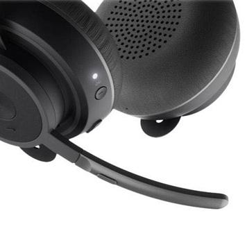 Bluetooth-Headset mit Bügelmikrofon