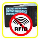 Geldbeutel mit RFID-Schutz