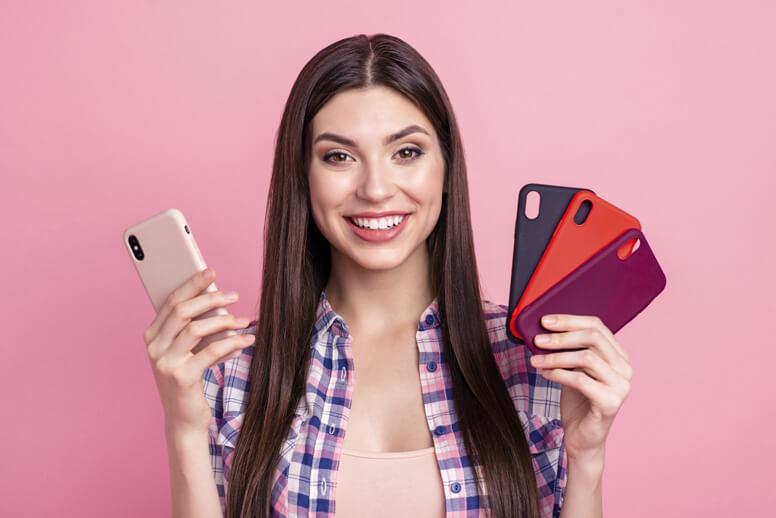 Unterschiedlichen Handyhüllen