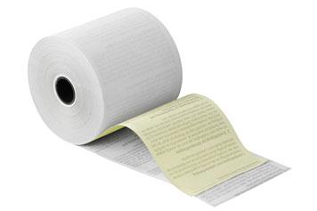 Kassenrollen aus Papier