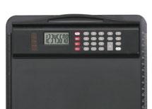 Klemmbrett mit integriertem Rechner