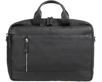 Schwarze Businesstasche mit Tragegriff