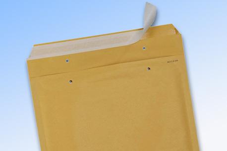 Luftpolsterversandtasche mit Haftklebe-Verschluss
