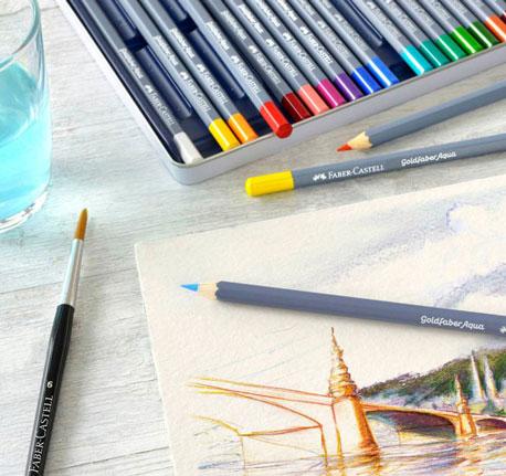 Aquarellstifte von Faber-Castell