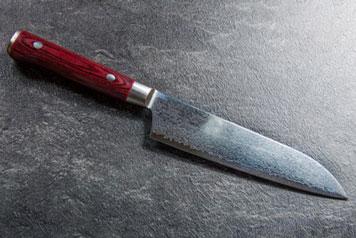 Messer mit Damaststahlklinge
