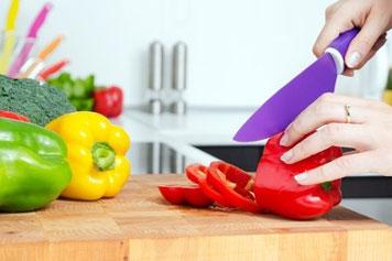 Messer mit Keramikklinge