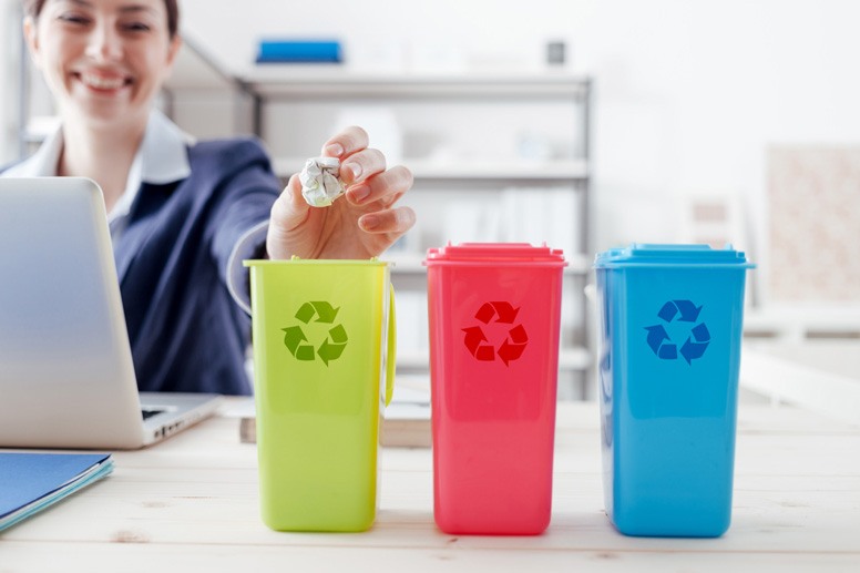 Mülleimer für Sauberkeit und Ordnung