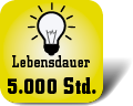 Piktogramm Lampenlebensdauer