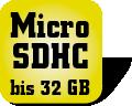 Piktogramm MicroSDHC