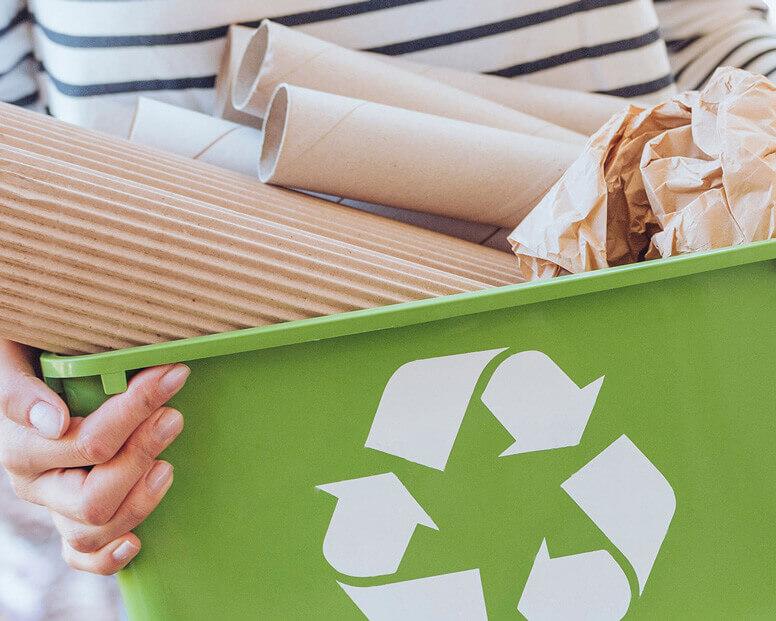 Mülleimer für Papier