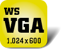 Piktogramm für Fernseher mit WSVGA-Auflösung
