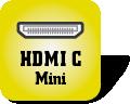 Piktogramm für HDMI Typ C