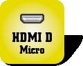 Piktogramm für HDMI Typ D