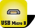 Piktogramm USB-Micro-B