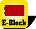 Piktogramm Batterie 9V E-Block