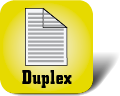 Piktogramm für Multifunktionsgeräte mit Duplex-Funktion