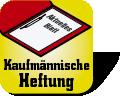 Piktogramm für Hefter mit Kaufmännischer Heftung