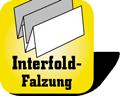 Piktogramm für Papierhandtücher mit Interfold-Faltung