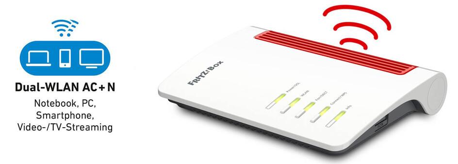 Router mit Dual-W-LAN
