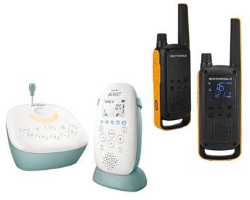 Philips Babyphone und Motorola Funkgeräte