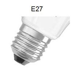 Leuchtmittel-Sockel-E27