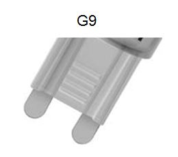 Leuchtmittel-Sockel-G9