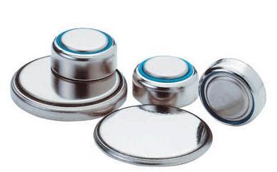 Knopfzellen unterschiedlicher Größe