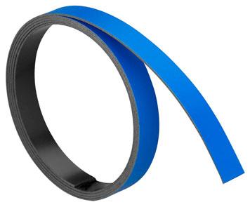 Blaues Magnetband