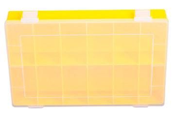 Gelber Sortimentskasten