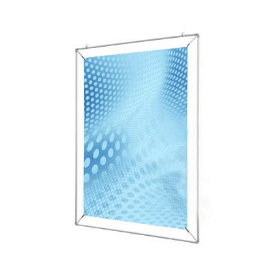 Spannrahmen aus Alumium für ein DIN A1 Plakat