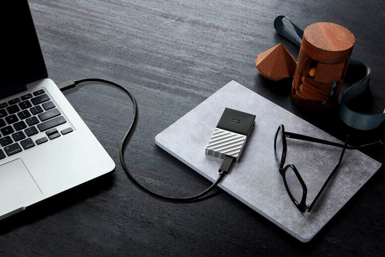 Festplatte 1,8 Zoll am Macbook
