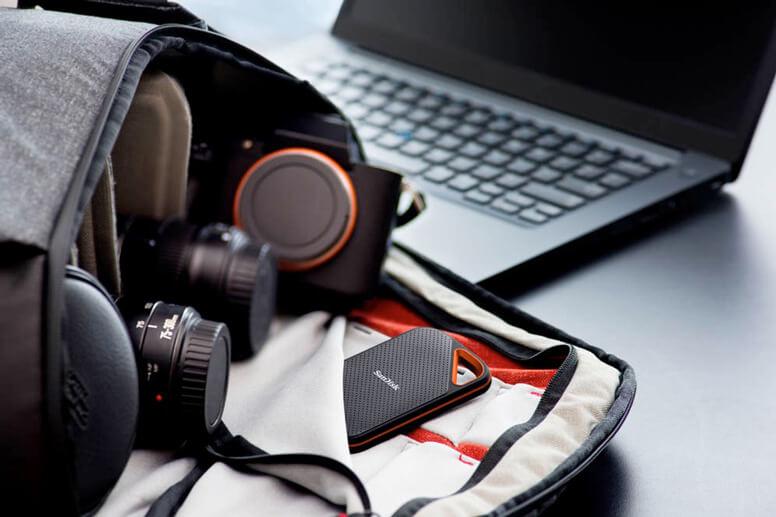 externe Festplatte Extreme Portable SSD von SanDisk