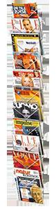 Wandprospekthalter für DIN A4 Prospekte und Zeitschriften
