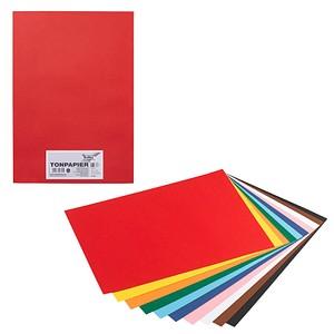 folia tonpapier farbsortiert a3 130 g qm g nstig online. Black Bedroom Furniture Sets. Home Design Ideas