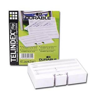 Ersatzkarten für Rollkartei Telindex von DURABLE