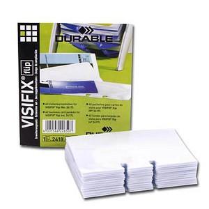 Ersatzhüllen für Rollkartei Visifix von DURABLE