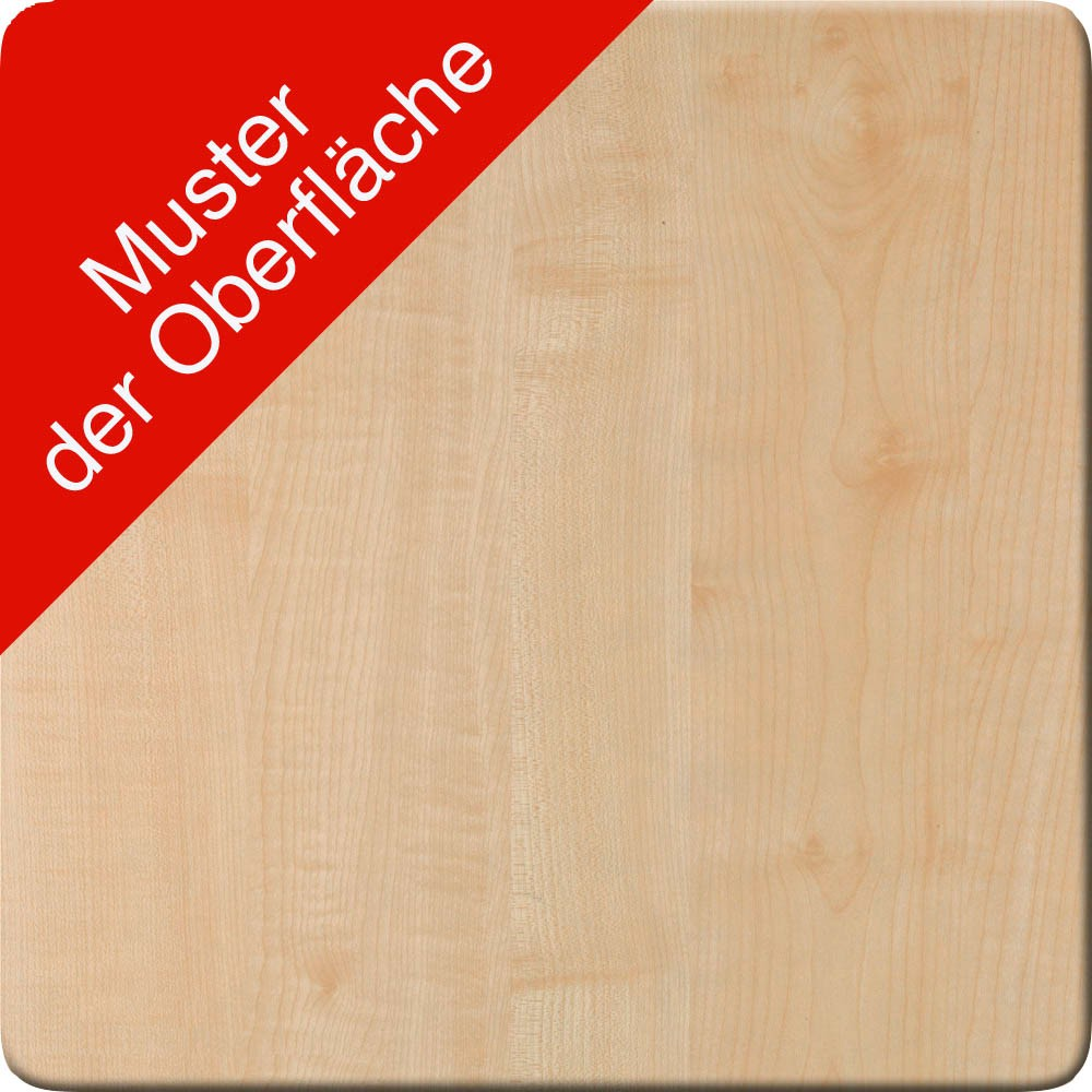 HAMMERBACHER Büromöbel-Set Pedusa ahorn L-Form günstig online kaufen ...