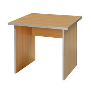 wellem bel schreibtisch inada buche quadratisch g nstig online kaufen office discount. Black Bedroom Furniture Sets. Home Design Ideas