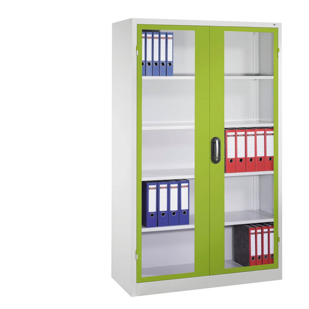 CP Stahlschrank grün/grau günstig online kaufen   office discount