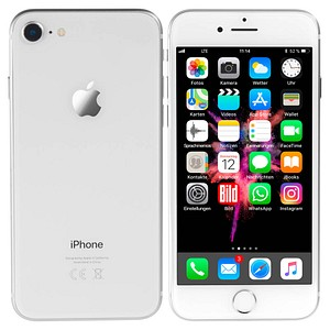 apple iphone 8 silber 256 gb g nstig online kaufen. Black Bedroom Furniture Sets. Home Design Ideas