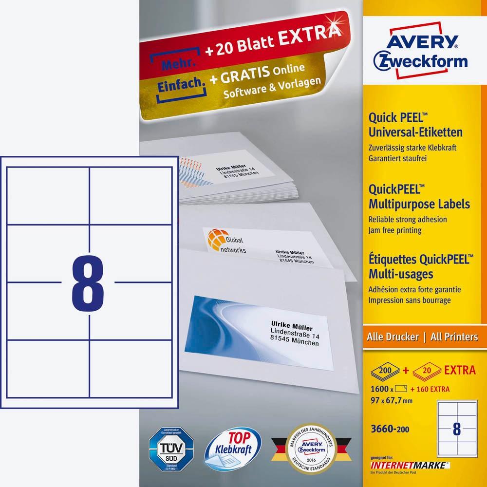 Beste Avery Dennison Etiketten Vorlagen Fotos - Entry Level Resume ...