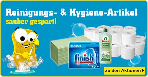 Reinigungs- und Hygiene-Artikel